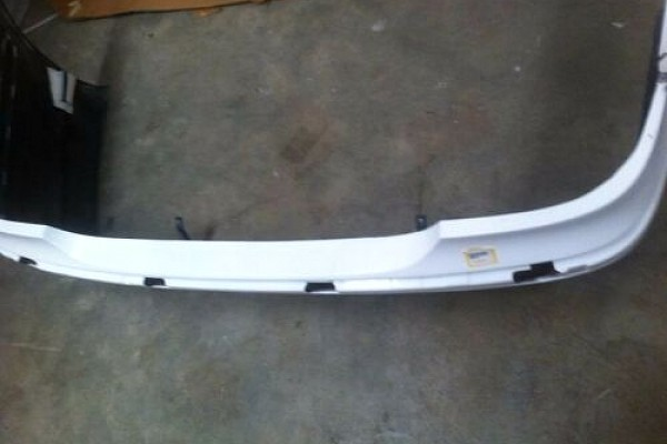 Picture of a Mercedes Benz 03 E Class W211 BB Style Rear Bumper Bar Body kit
